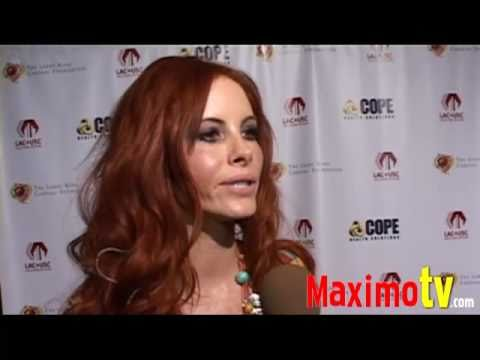 Phoebe Price Interview at Larry King's 75th Birthday Party Celebration