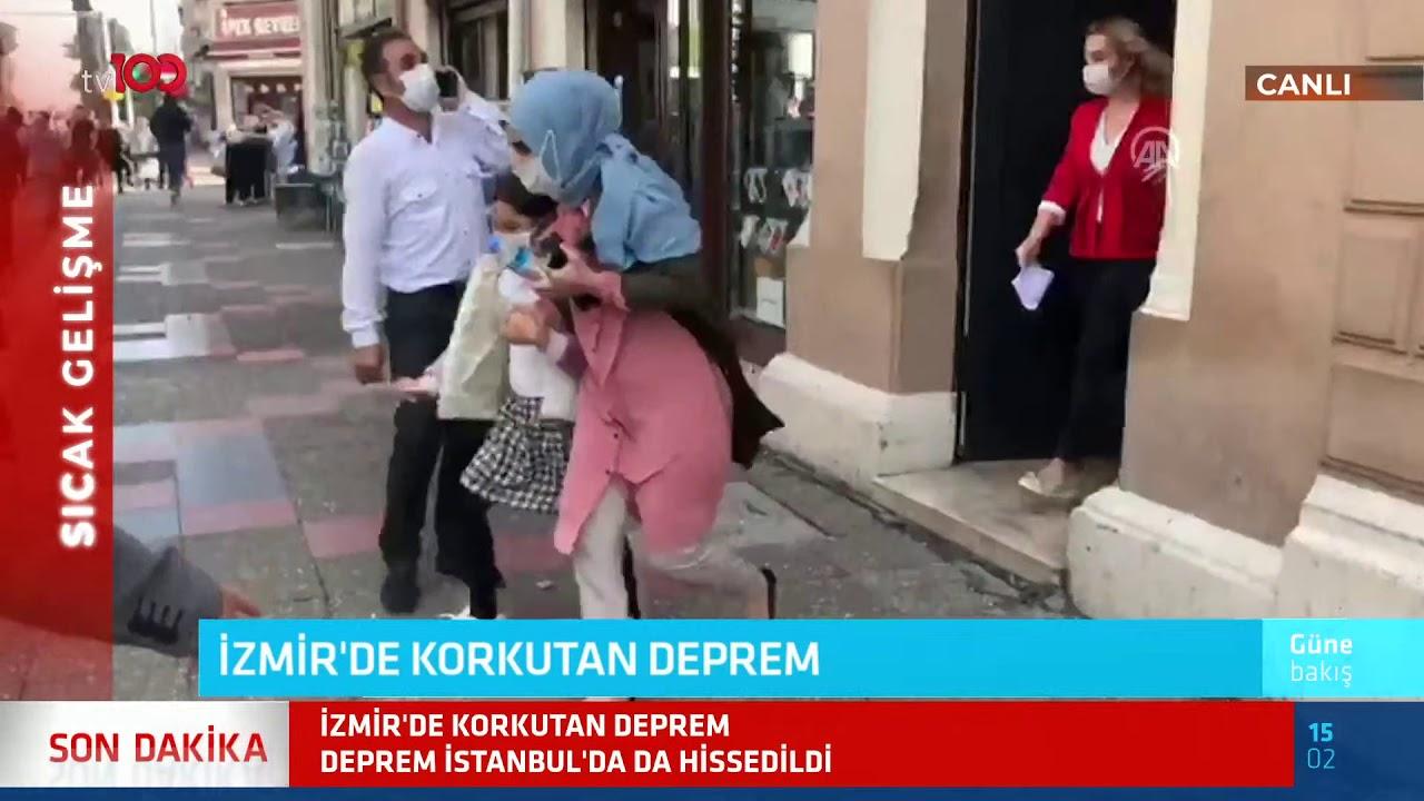 İzmir'de 6.6'lık deprem! İstanbul'da da hissedildi