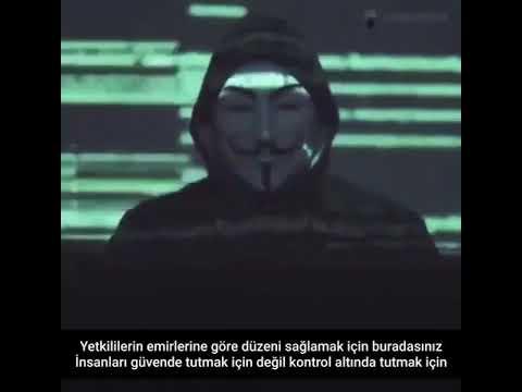 Anonymous: İnsanlar polislerin halkı korumak için var olmadığını öğrenmeye başladı