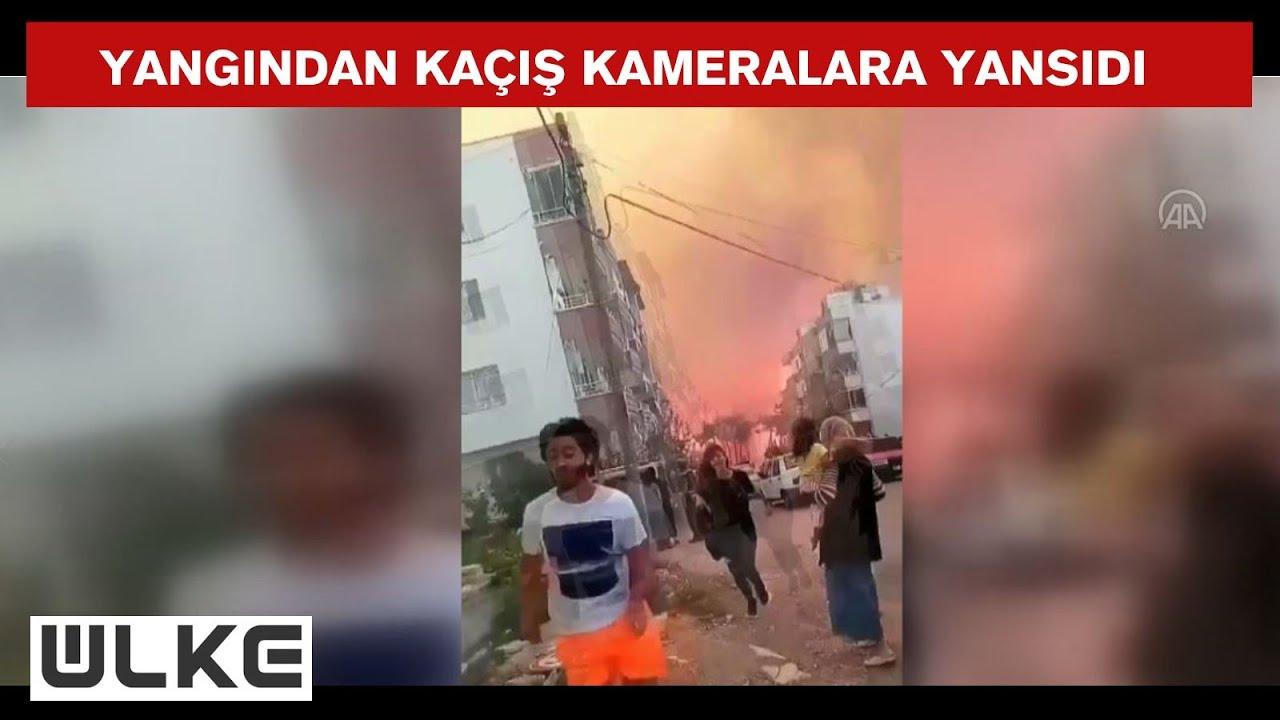 Hatay Belen'deki orman yangını tedirginlik yarattı
