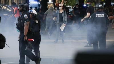 ABD'de eylemcilerin arasına eylemci görünümlü polisler sızdı