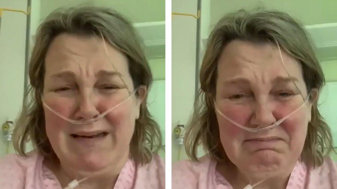 Koronavirüs tedavisi gören kadın: Nefes alamıyorum, ölümü kabul edebilirim
