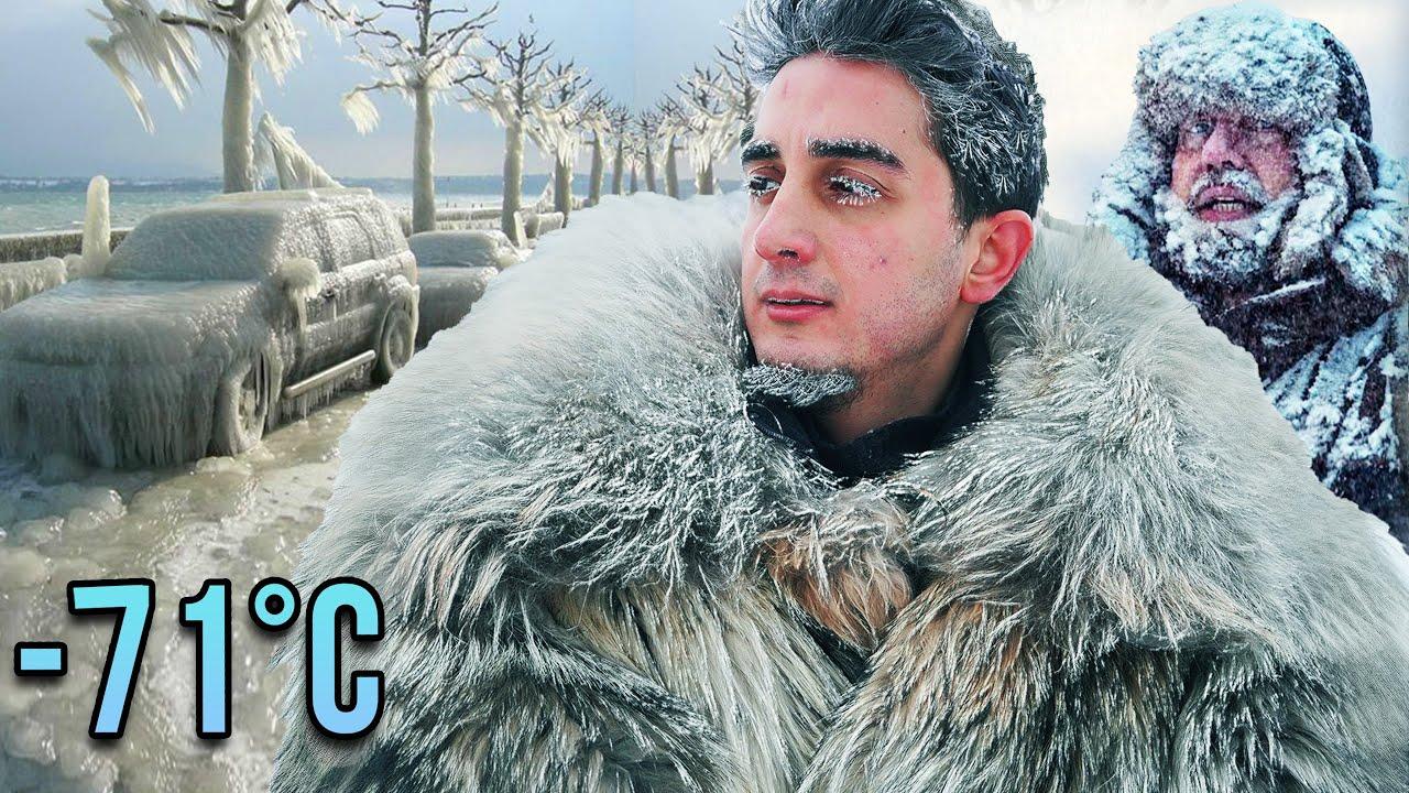 DÜNYANIN 'EN SOĞUK' ŞEHRİNE YOLCULUK -71°C [Özel video]