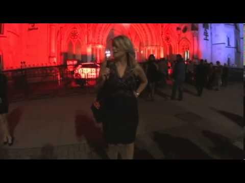 Nicole Scherzinger sizzles in skintight leather dress
