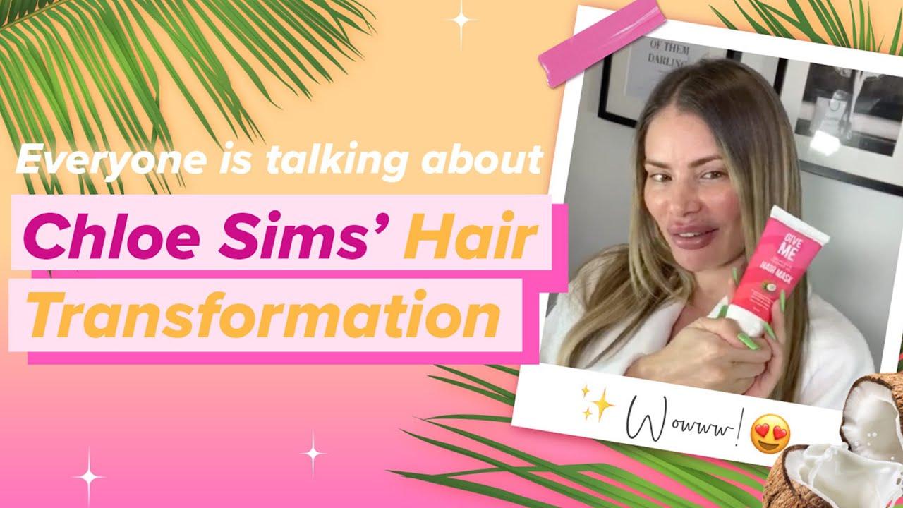 WATCH TOWIE Star Chloe Sims 15 Minute Hair Transformation ????
