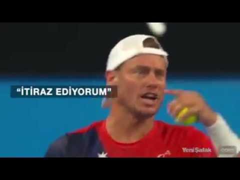 Tenis maçında centilmenlik örneği