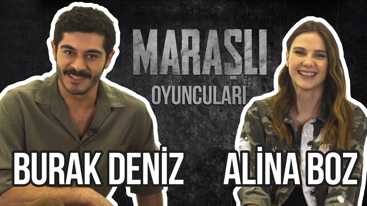 Alina Boz & Burak Deniz Sosyal Medyadan Gelen Soruları Yanıtlıyor! Maraşlı Oyuncuları!