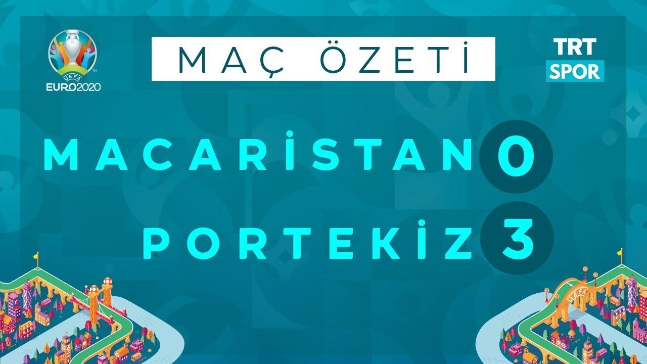 EURO 2020 | Macaristan - Portekiz (Özet) - Ronaldo'nun rekor gecesi
