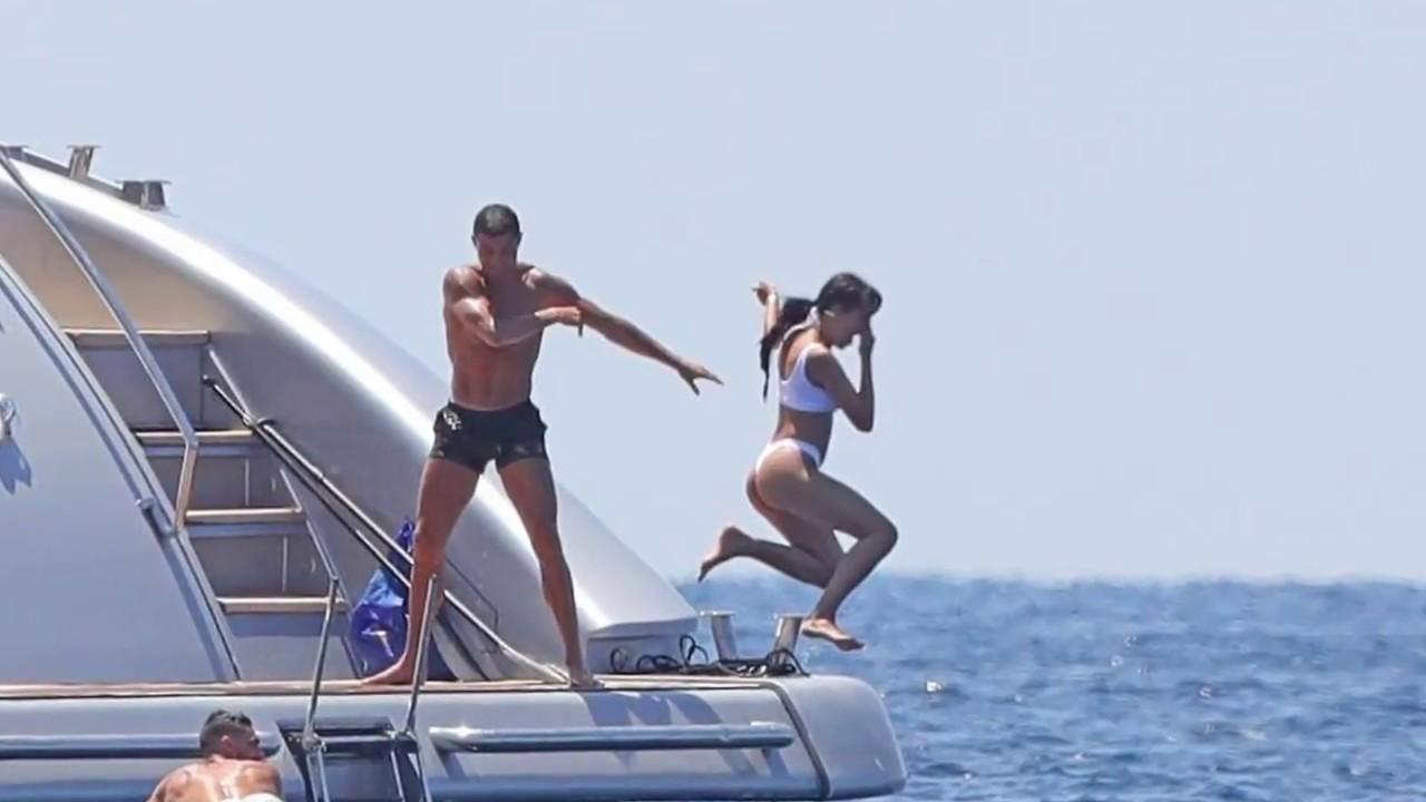 Cristiano Ronaldo Holidays In Ibiza With Girlfriend Georgina Rodriguez