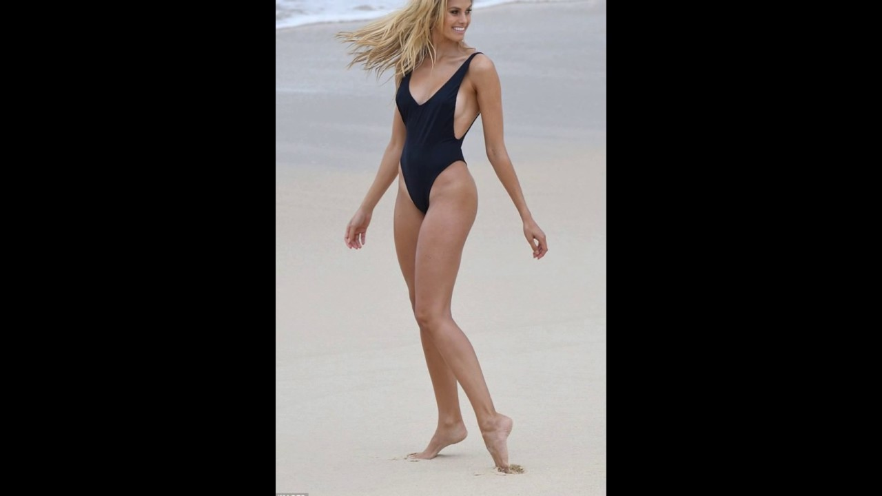Sizzling hot! Natalie Roser leaves VERY little to the imagination as she shows off bikini body...