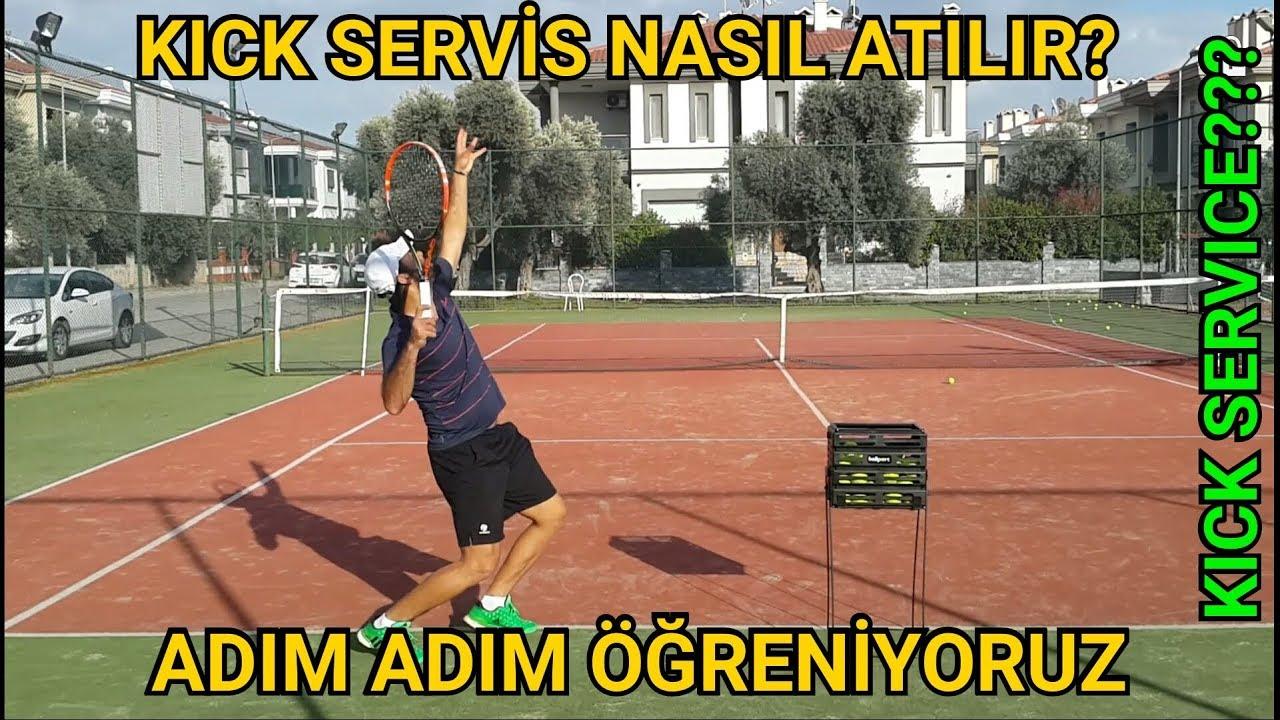 Tenis servisi nasıl atılır