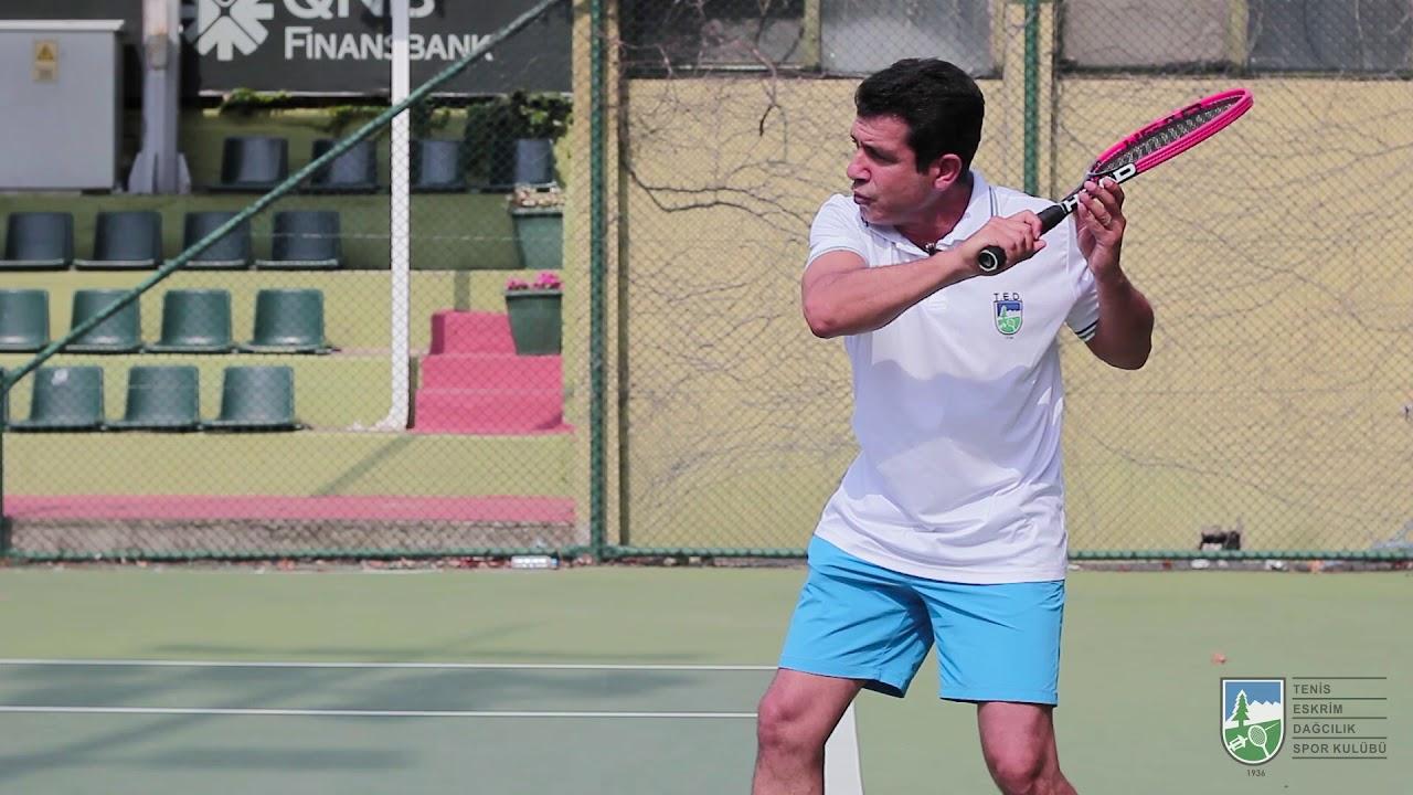 Tenis backhand slice vuruşu nasıl yapılır