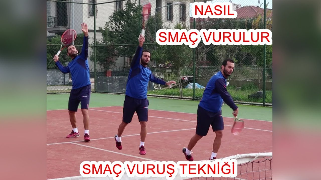 Teniste smaç tekniği