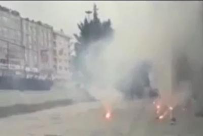 İstanbul'da taraftarlar belediye binasına saldırdı