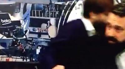 Patlama BJK TV'nin kamerasına böyle yansıdı
