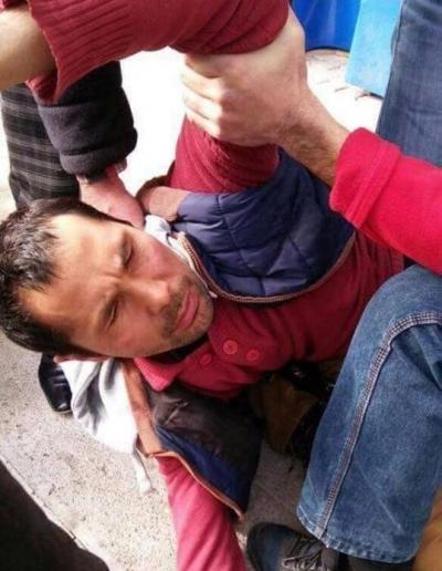 Reina saldırganı olduğu iddia edilen bir kişi dövüldü